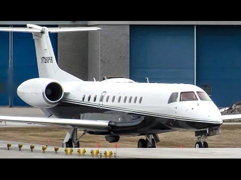Private Legacy 600 (E35L) landing & departing Montreal (YUL/CYUL)
