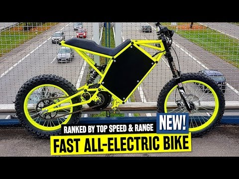 10 Powerful Electric Bicycles Available in 2019: Ranked by Top Speed & Biking Range