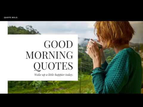 55+ Good Morning Quotes [Images, Tips + Free eBook] - QuoteBold