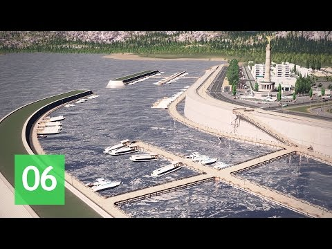 Cities Skylines: Wayside Valley - Ep.6: The Marina