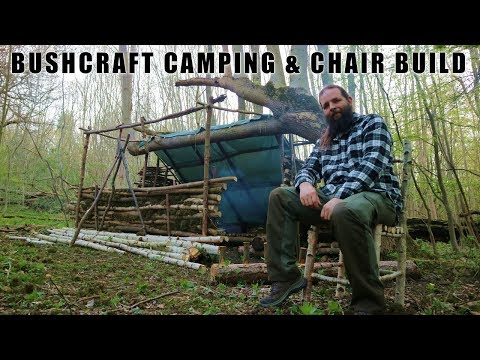 Wild Bushcraft Camping & Bushcraft Chair Build