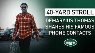 40-Yard Stroll: Demaryius Thomas Talks Friendship With Jimmy Butler