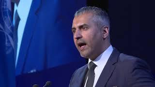 Maajid Nawaz Accepts Morris B. Abram Human Rights Award