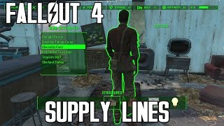 Fallout 4 Making A Supply Line [Workshop Guide]