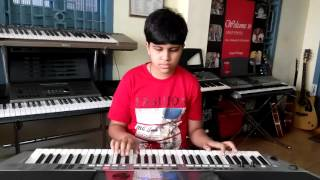talachi talachi from 7 g brindavan colony on keyboard by pavan vinay