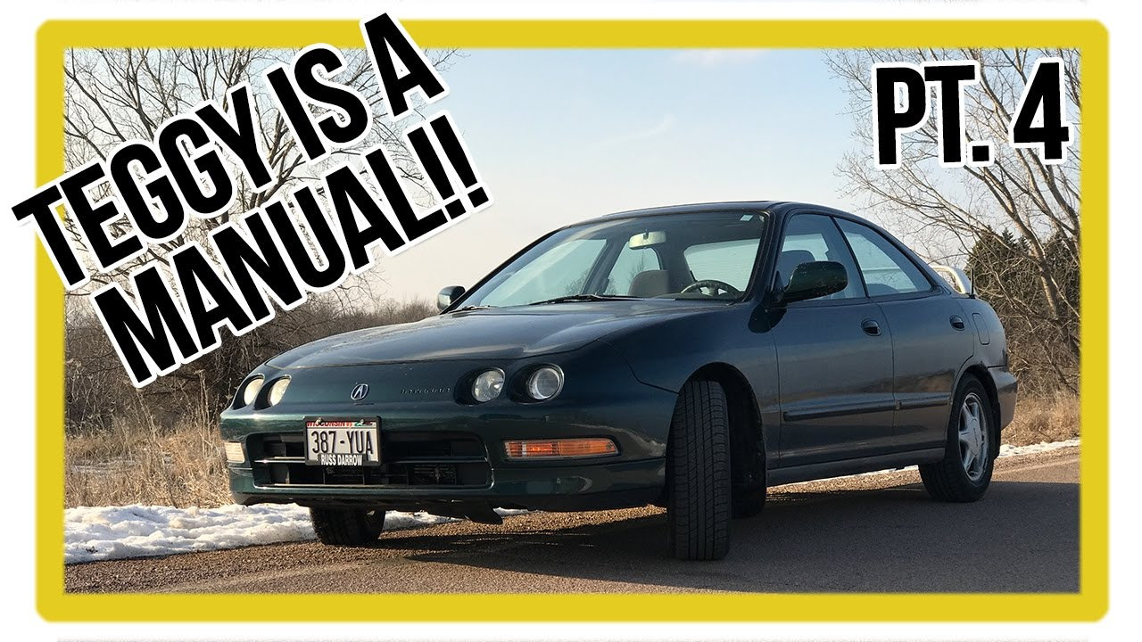 acura integra build part 4 integra auto to manual swap the first rh youtube com 1999 acura integra service manual pdf Acura Integra Type R