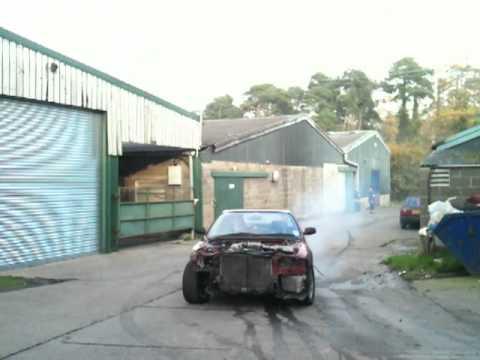 Missile drift car