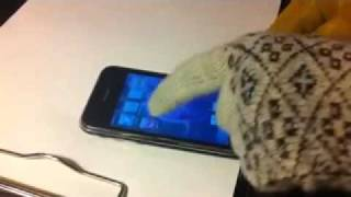 Перчатки для сенсорных телефонов с емкостным экраном(, 2012-01-29T20:05:06.000Z)