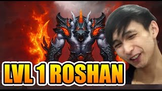 SingSing Dota 2 [Throwback] LVL 1 Roshan Tactic