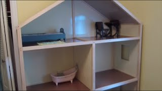 Building My American Girl Dollhouse