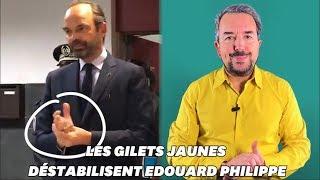 Le désarroi d'Édouard Philippe se lit dans ses gestes