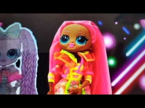 Lights Series NUOVO /& OVP L.o.l Surprise OMG-GLITTER Queen-Dazzle