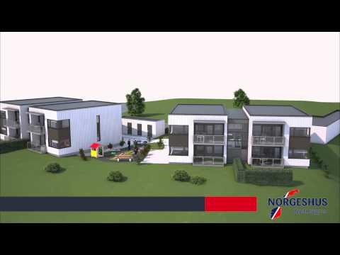 Norgeshus Oppdal Bygg selger 8 nye leiligheter på Berkåk