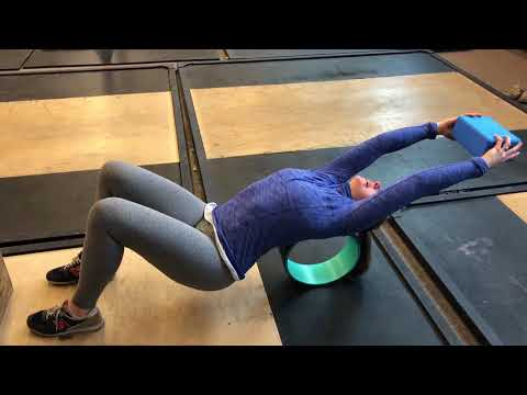 Thoracic Mobility Series: Step 6 Shoulder Flexion over wheel