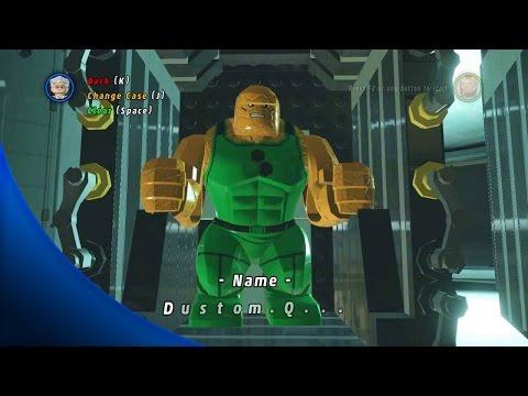 LEGO Marvel Super Heroes - How To Make Custom Big Fig Characters