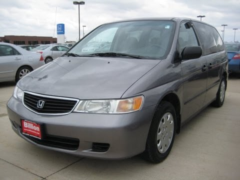 HONDA ODYSSEY 2000, START UP walk around and review