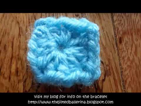 Crochet Tiny Granny Squares Youtube