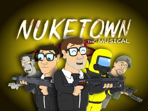 NUKETOWN THE MUSICAL FEAT. CHUCK TESTA - Black Ops 2 Zombies Parody