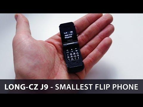 Long CZ J9 - Das Kleinste KLAPPHANDY Der WELT | Techupdate