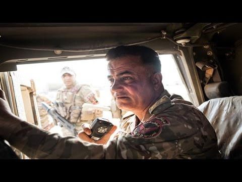 On the Road to Mosul With Iraqi Elite Forces