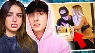 Addison Rae BREAKS UP with Bryce Hall after CHEATING on her TWICE?!!