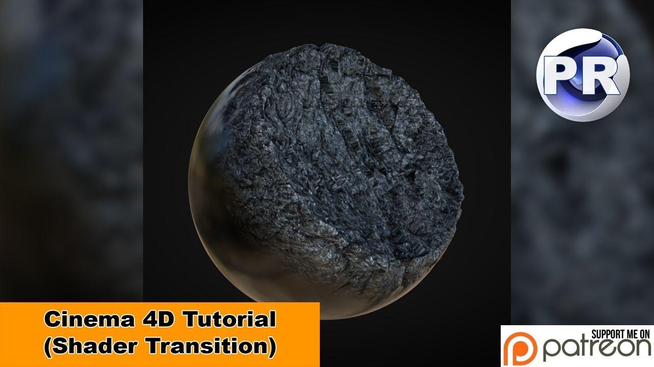 Shader Transition (Cinema 4D Tutorial)