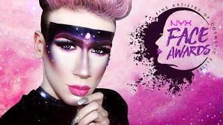 GALAXY INSPIRED BEAUTY QUEEN MAKEUP ♡ #NYXFACEAWARDSGERMANY | Marvyn Macnificent