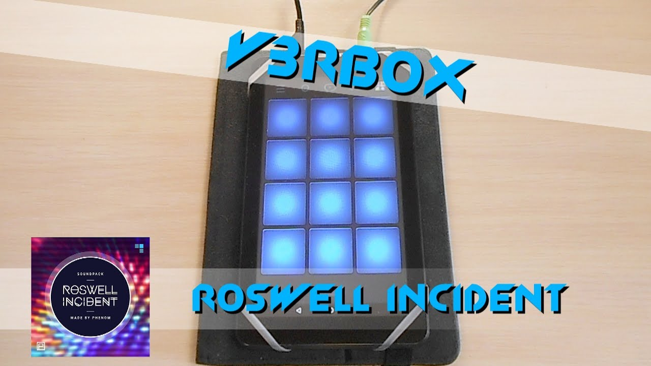 dubstep drum pad machine roswell incident youtube. Black Bedroom Furniture Sets. Home Design Ideas