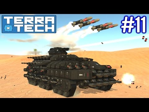 Terratech | Ep 11 | Hawkeye Cruise Missile Tank!!