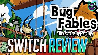 Bug Fables Nintendo Switch Review-PAPER MARIO with BUGS!? (Video Game Video Review)