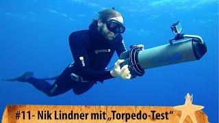 "aquaProp Scooter von BONEX: Weltmeister Nik Linder testet ""Spaß-Torpedo"""