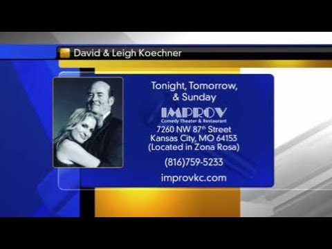 FOX4 News at 9:00AM:  David Koechner and wife, Leigh Join Us LIVE
