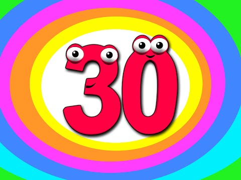 """""""Counting to 30"""" Numbers 123s & More 