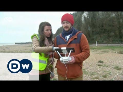 Drones seek plastic | DW English