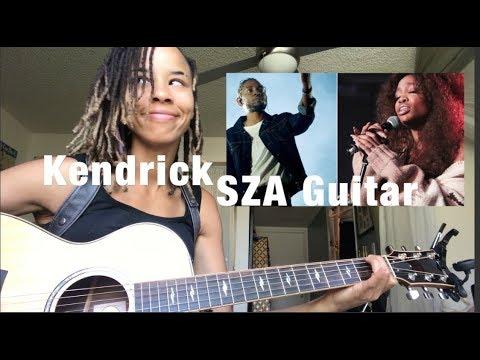 Kendrick Lamar SZA [All The Stars] INTERMEDIEDATE Guitar Lesson