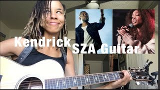 Kendrick Lamar SZA [All The Stars] INTERMEDIEDATE Guitar Lesson