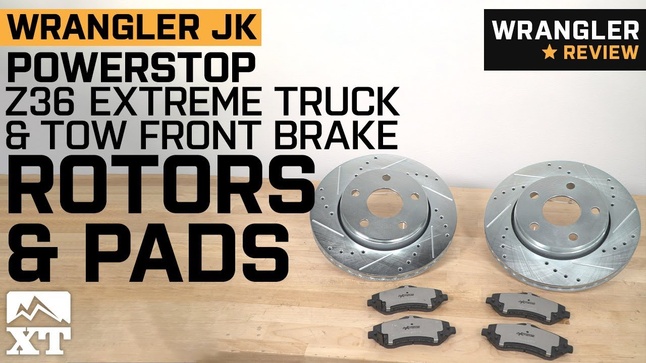 Disc Brake Pad Set-Truck and Tow Severe Duty Disc Brake Pad Front POWER STOP