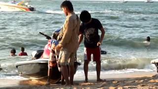 CAUGHT ON VIDEO: Thailand jet ski scam exposed!!!