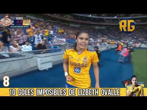 Los 10 Goles Imposibles de Lizbeth Ovalle