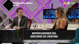 678 - Las palabras de CFK tras las elecciones presidenciales - 29-10-15