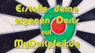 Darts - Der MyDartpfeil.de - Dartskonfigurator - Teil 1