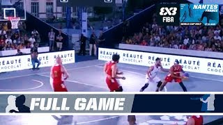 GAME OF THE DAY: Serbia vs. Russia - Full Game - FIBA 3x3 World Cup 2017