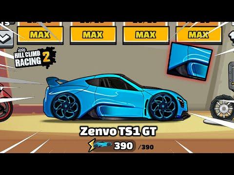 Hill Climb Racing 2 – Epic ZENVO TS1 GT Supercar 😍 (Gameplay)