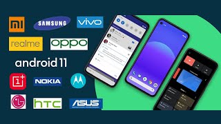 Android 11 Release Date In India | All Brands