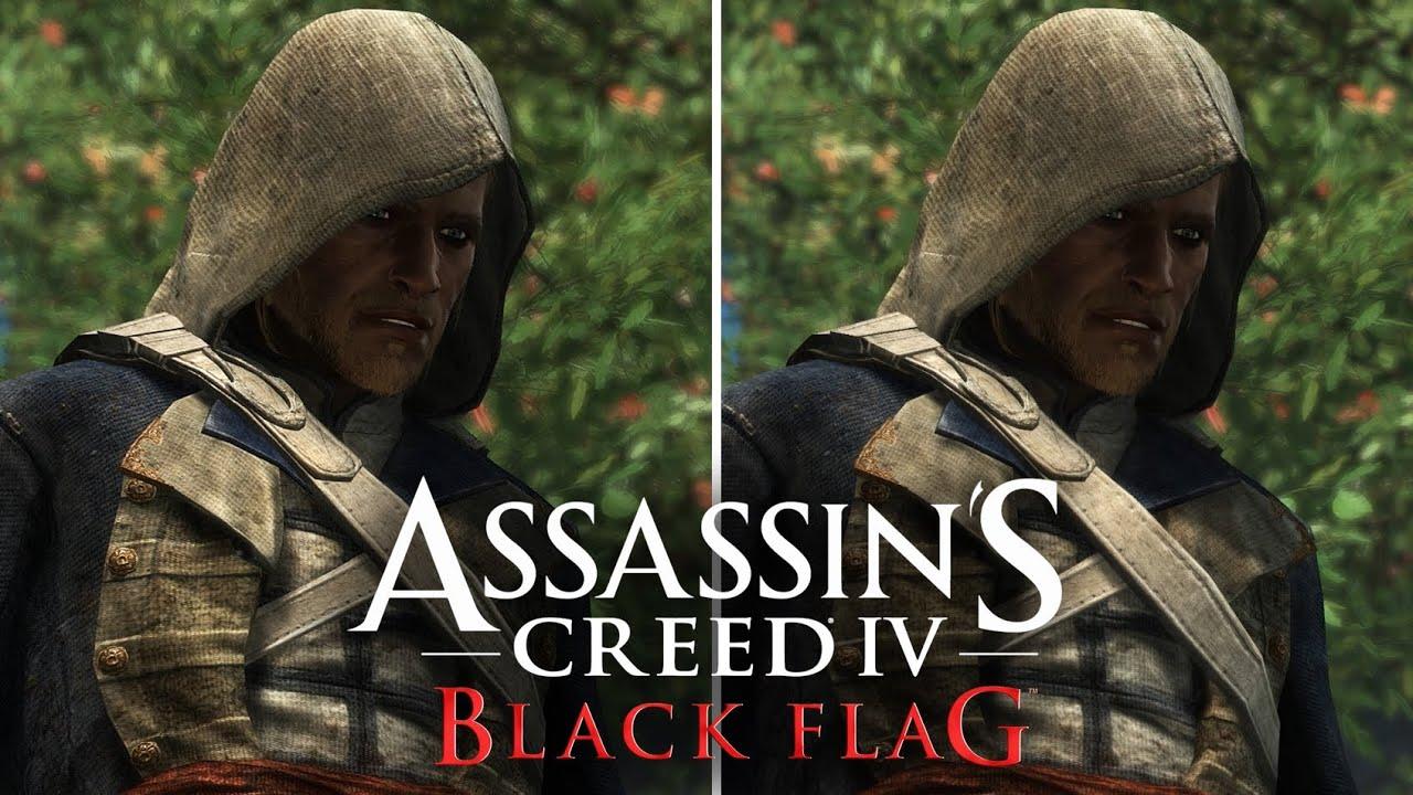 Assassins Creed 4 Xbox One Vs PS4 Graphics Comparison