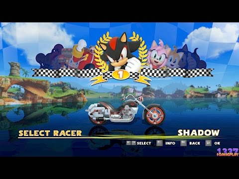 Sonic & SEGA All Stars Racing - Shadow VS All