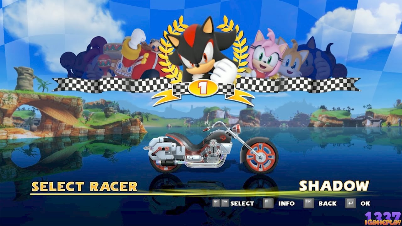 sonic and sega all stars racing xbox 360 youtube