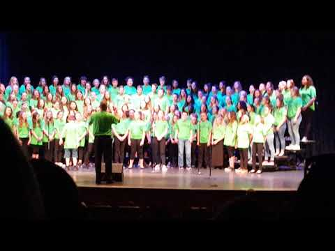 Sashabaw Middle School End of Year Choir Concert 2018(4)
