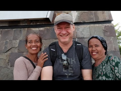 Wonderful people I met in Makassar and Fort Rotterdam, South Sulawesi