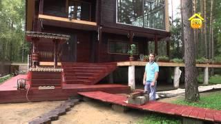 видео Деревянные дорожки для дачи, сада и коттеджа